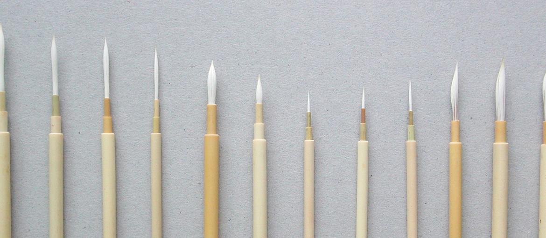 国産筆・輸入筆